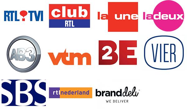 chaine Benelux, Pub TV Benelux
